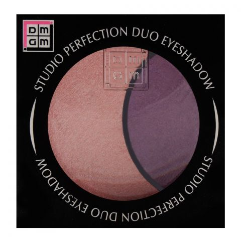 DMGM Studio Perfection Duo Eyeshadow 37 Pink Orchid/Voilet Craze (IMPORTED) (4761291653205)