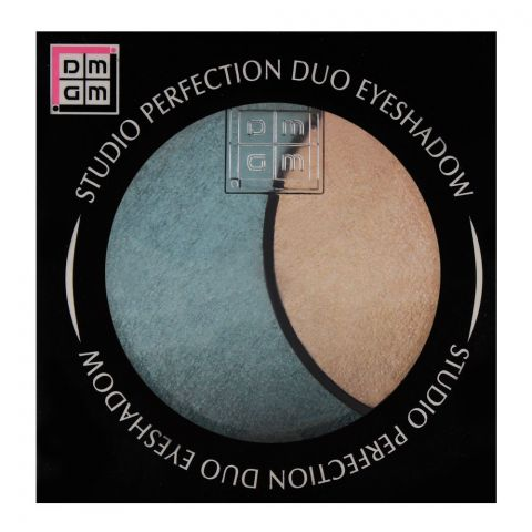 DMGM Studio Perfection Duo Eyeshadow 44 Sea Green/Strawberry Frost (IMPORTED) (4761286410325)