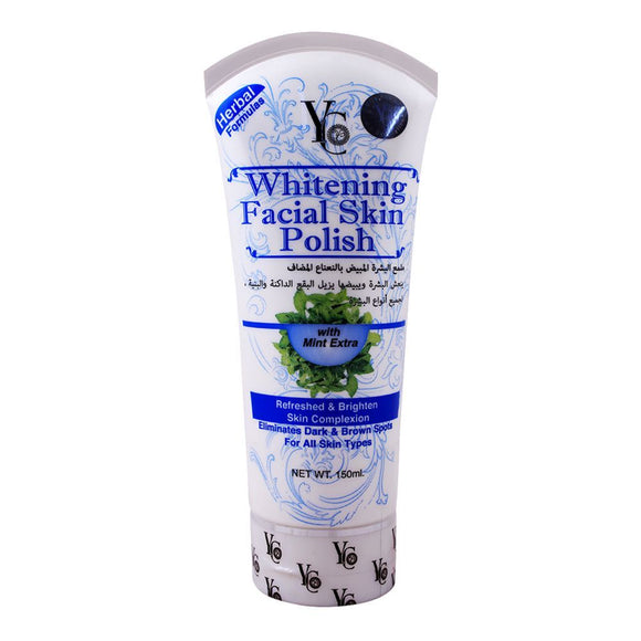 YC Whitening Mint Extra Facial Skin Polish 150ml (4616767307861)