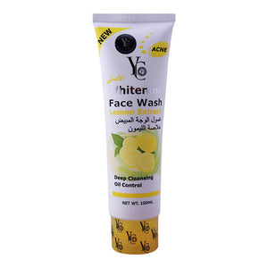 YC Whitening Face Wash Lemon 100ml Facewash Facial Cleaner 100ml