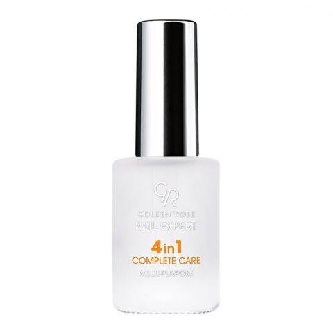 Golden Rose Nail Expert 4-In-1 Complete Care, Multi-Purpose Nail Care, 11ml (4761410764885)