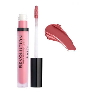 Makeup Revolution Matte Liquid Lipstick, Poise 115 (4761394544725)