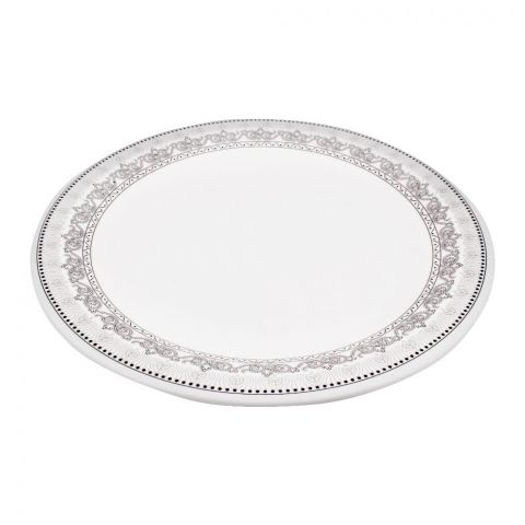 Sky Melamine Flat Plate, Grey 10 Inches (4768476889173)