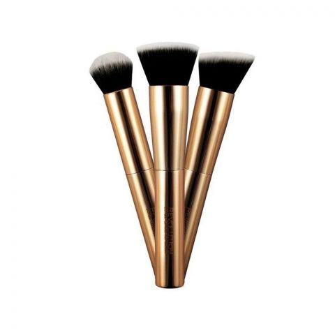 Makeup Revolution Ultra Metals Go Eye Contouring Brush, 3 Pieces (4762098171989)