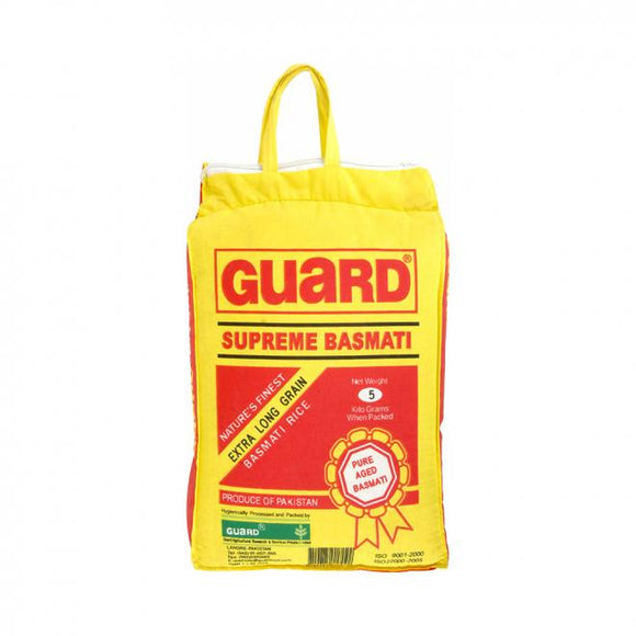 Guard Supreme Basmati Rice 5kg (4736301039701)