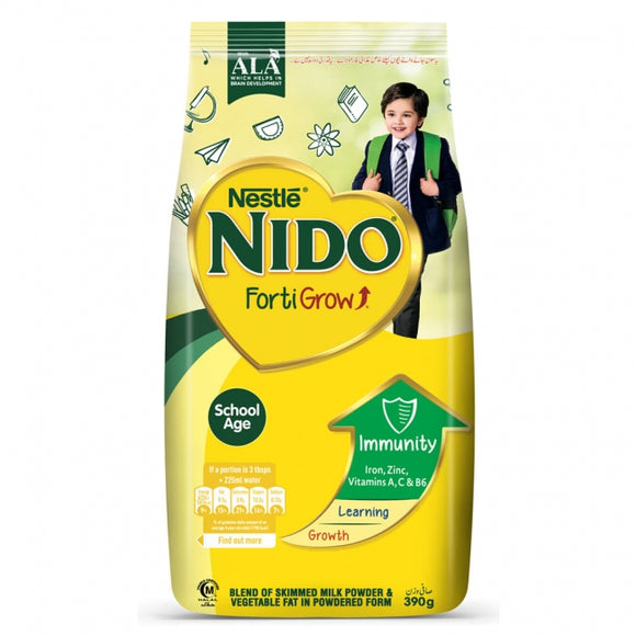 NIDO MILK POWDER POUCH 900GM FORTI GROW