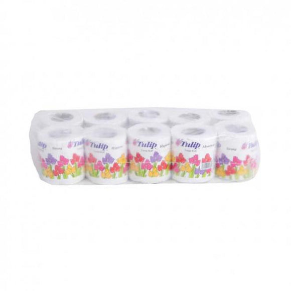 Tulip Toilet Roll Small Pack of 10 (4736172130389)