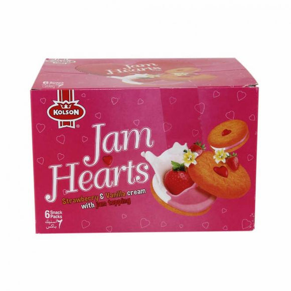 Kolson Jam Heart Biscuit T/P Box