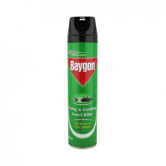 Baygon Multi-Insect Killer Spray 300ML (4736100761685)