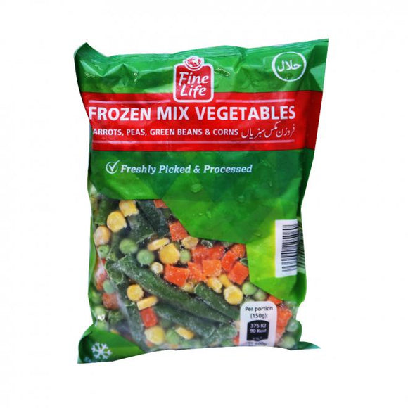 Fine Life Frozen Mixed Vegetables 400GM (4734039162965)