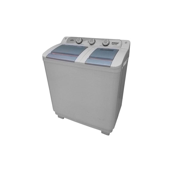 Homage Washing Machine Twin 10Kg 1020SA.(ONLY FOR KARACHI) (4736265486421)