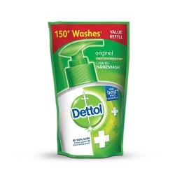 Dettol Hand Wash Original Refill Liquid - 150ml (4620319326293)
