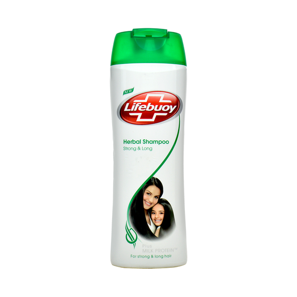 Lifebuoy - Lifebuoy Strong and Long Herbal Shampoo - 375ml (4611976560725)