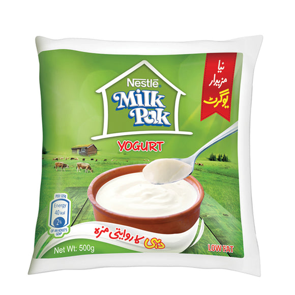 Nestle Milkpak Yogurt 500GM (4735321407573)