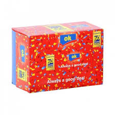 OK Popup Tissue Box (Red)