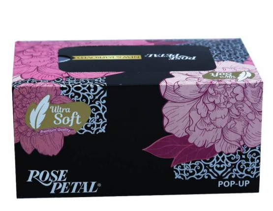 Rose Petal Pop Up Tissue