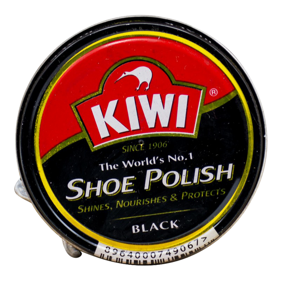 KIWI SHOE TIN 45ML BLACK
