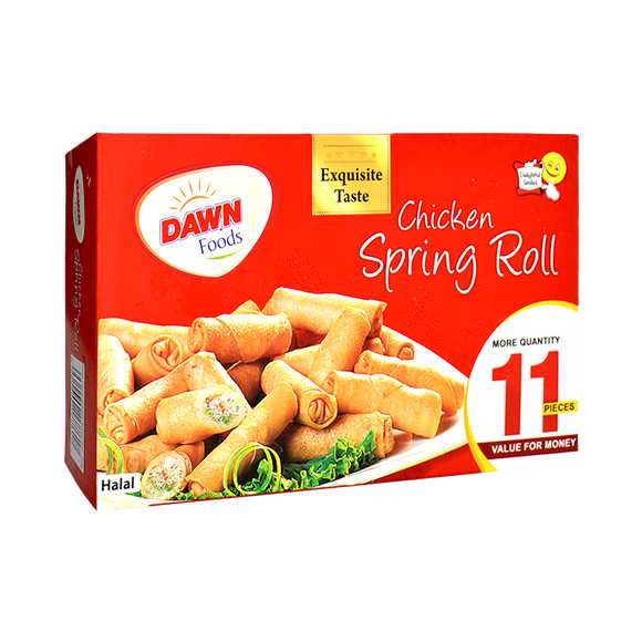 Dawn - Dawn Chicken Spring Roll (Pack of 11) - 220gm (4611846864981)