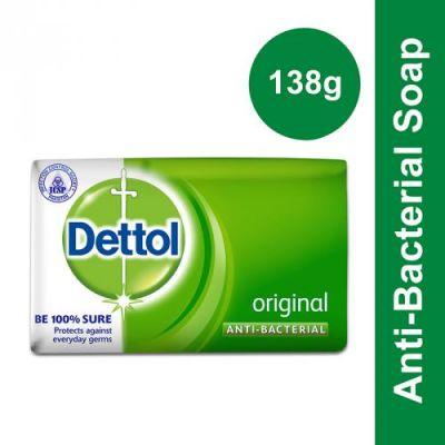 Dettol Soap Original 138gm (4631142465621)