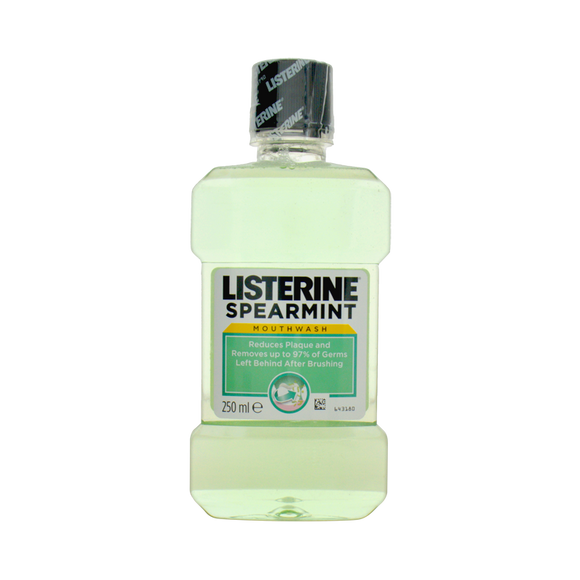 Listerine - Listerine Spearmint Mouth Wash - 250ml