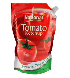 National Ketchup 1 KG Pouch (4736286457941)