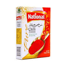 National Red Chilli Powder 200 GM (4736264536149)