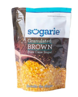SUGARIE BROWN SUGAR GRANULATED 1KG POUCH