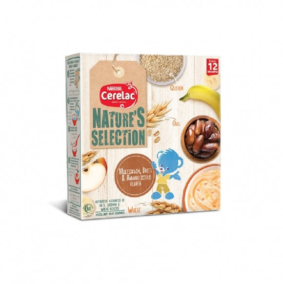 Nestle Cerelac Nature Dates and Banana 175GM (4735340445781)