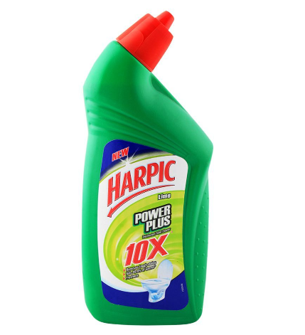 HARPIC TOILET CLEANER LIME 500ML (4725565947989)