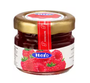 Hero Jam Portion Raspberry 28.3g (4638908285013)