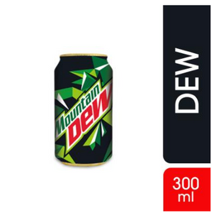 Mountain Dew Can 300ml (4632334893141)