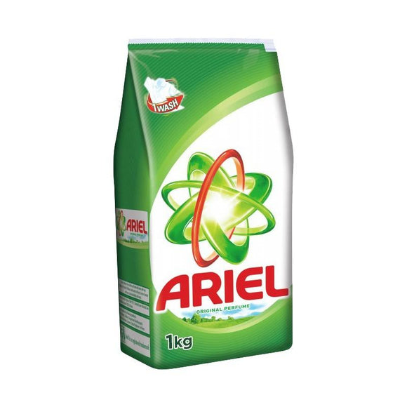 Ariel Detergent Original Powder 1kg (4611923116117)