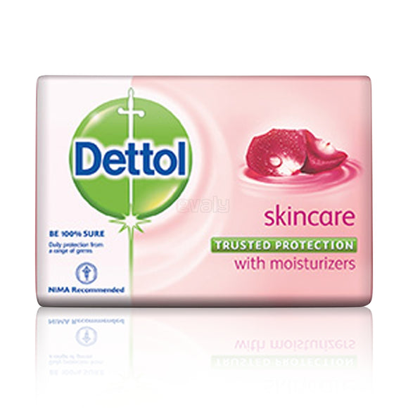 Dettol Soap Skin Care With Moisturisers 130gm (4631156555861)