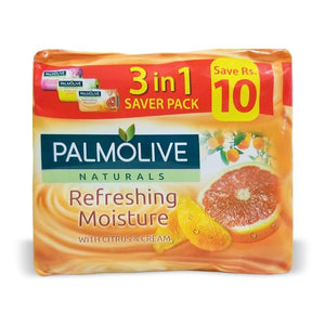 Palmolive - Palmolive Refreshing Moisture Soap (Pack of 3) - 110gm