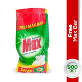 Max Dishwash Lemon Powder (With Free Max bar) 790gm