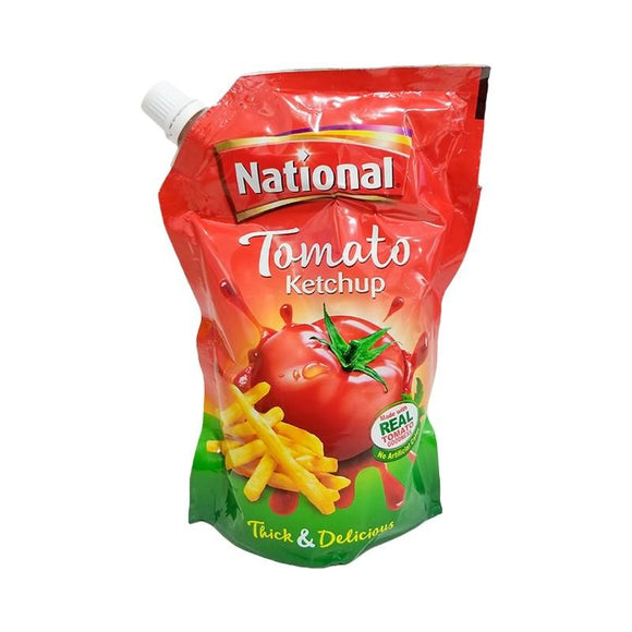 National Tomato Ketchup Pouch 475gm (4611889463381)
