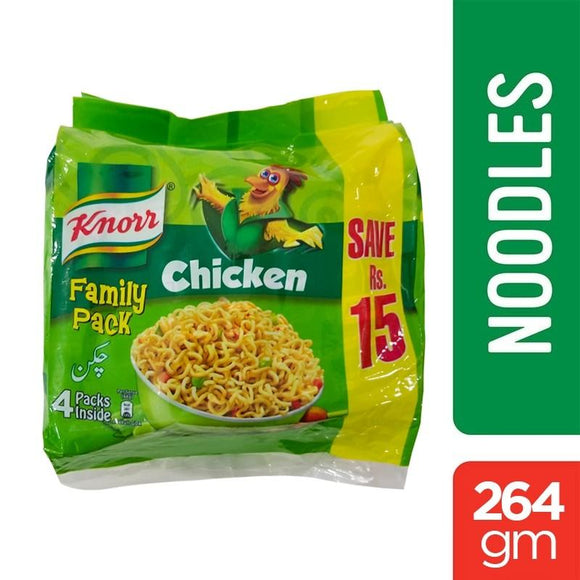 Knorr Noodles Chicken Family Pack 264gm (4611867508821)
