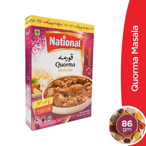National Quorma Masala 86gm (4611885367381)