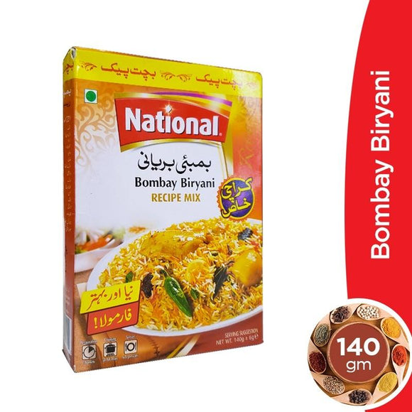 National Bombay Biryani Masala 140gm (4611884712021)