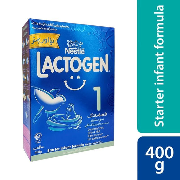 Lactogen - Nestle Lactogen 1 Gentle Start (For New Borns) - 400gm (4611838967893)