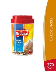 National Garlic Pickle 370gm (4658245730389)