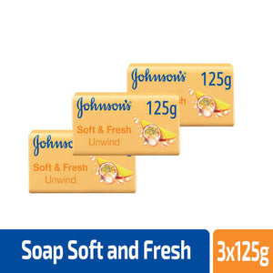 Johnson's Soap Soft and Fresh 125g (4628037533781)