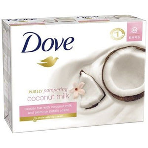 Dovee Soap Purely Pampering Coconut Milk Bar 100 Gram