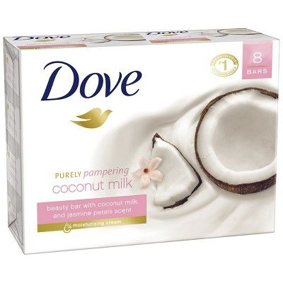 Dovee Soap Purely Pampering Coconut Milk Bar 135gm (4627703398485)