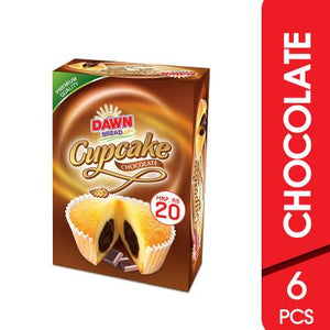 Dawn Cup Cake Chocolate 6 Pcs (4626096029781)