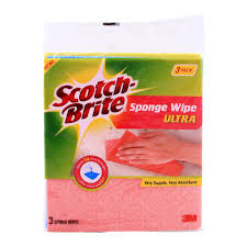 Scotch Brite Sponge Cloth 3 in 1 (4736703397973)
