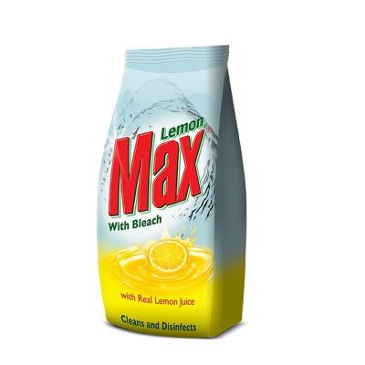 Lemon Max Dishwash With Bleach Powder 900g