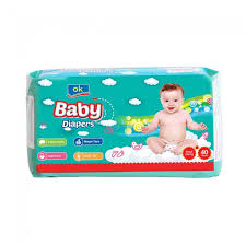 OK Baby Diapers Small 40 PCS