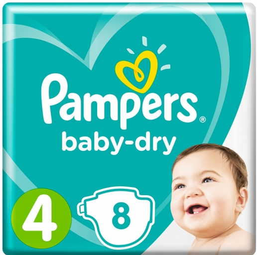 Pampers Jumbo Pack Size 4