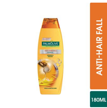 Palmolive Anti-Hair Fall Shampoo 180ml (4632297996373)